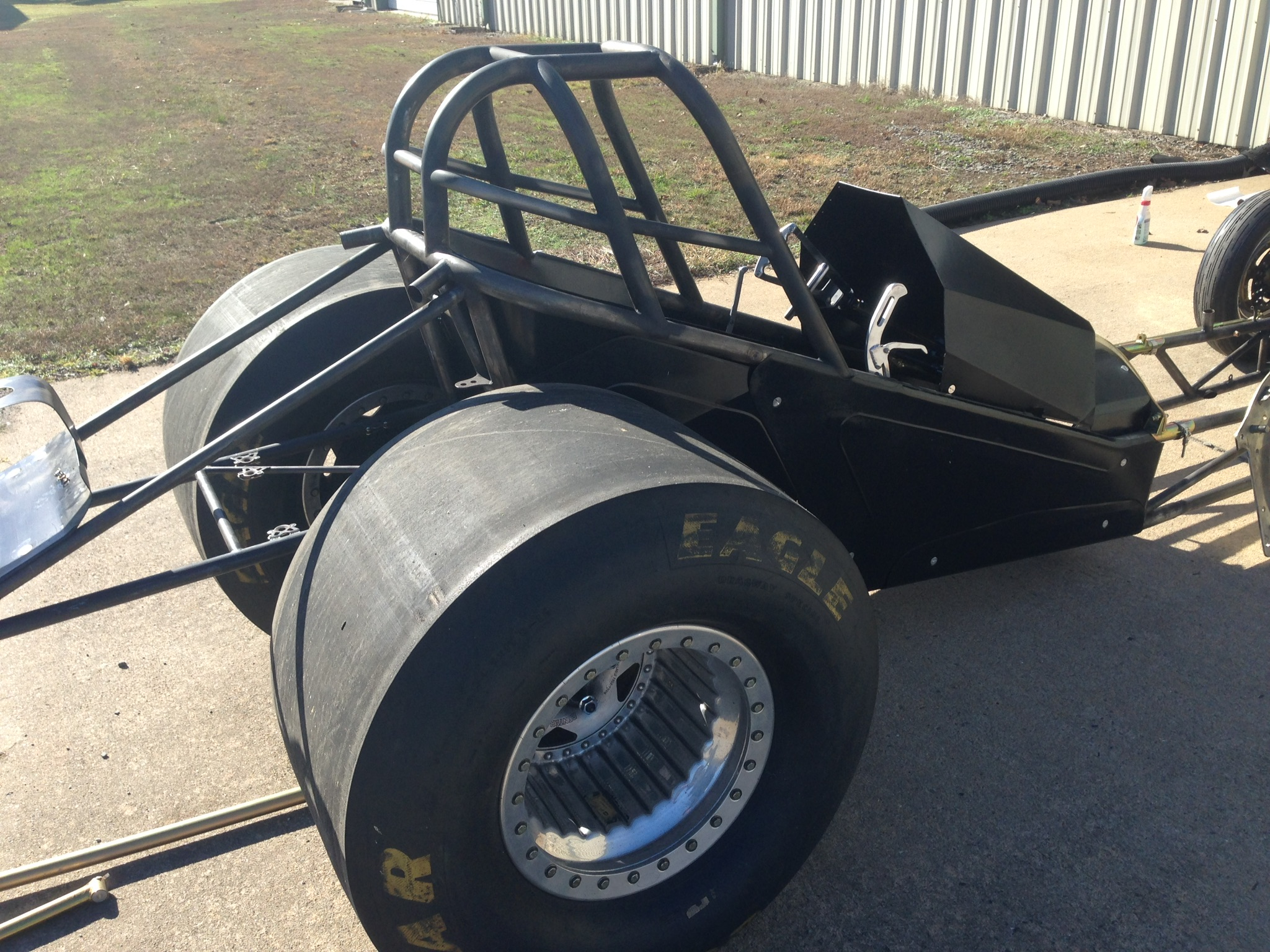 Funny/Fuel Altered Car Chassis | Wizard's Warehouse
